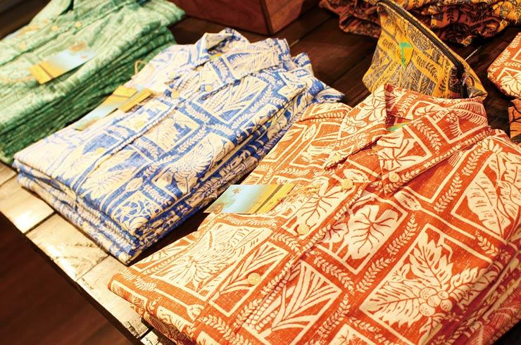 ハワイ‐キホロカイのアロハシャツ