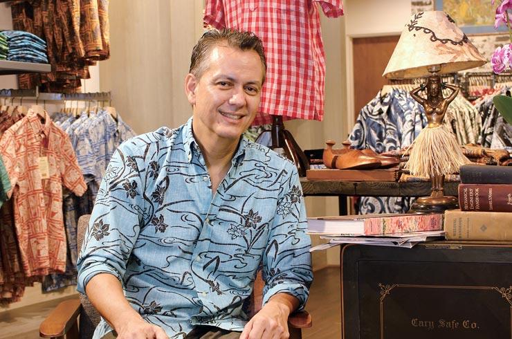 楽園の仕事人:アロハシャツにストーリーを込めて