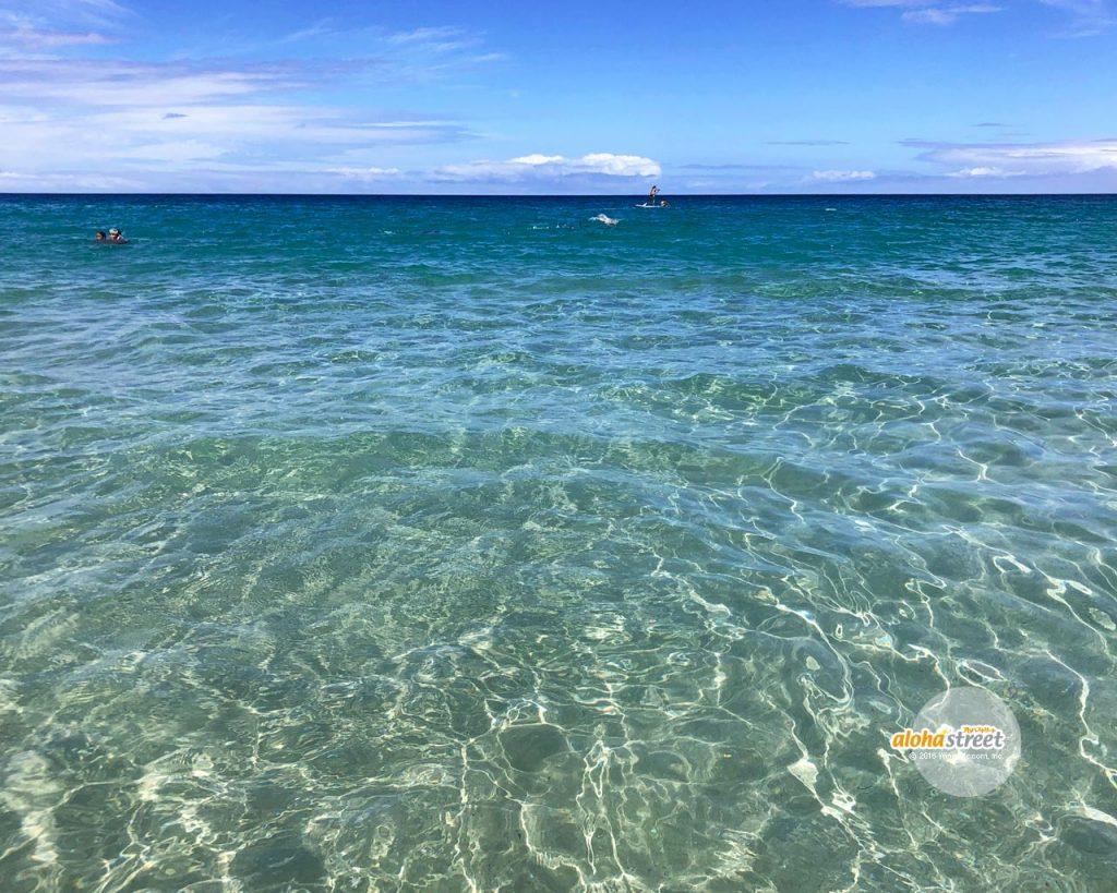 透明な海にダイブ!