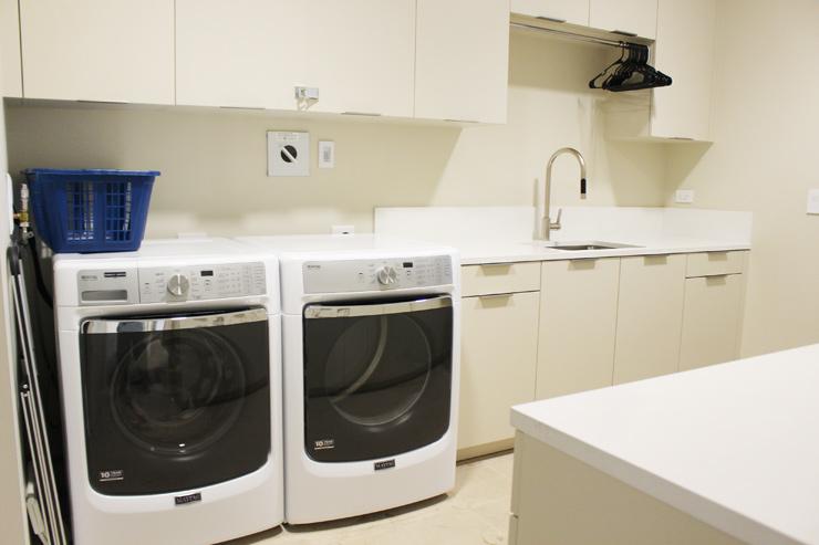 ハワイのパークレーンには洗濯機&乾燥機も付いています