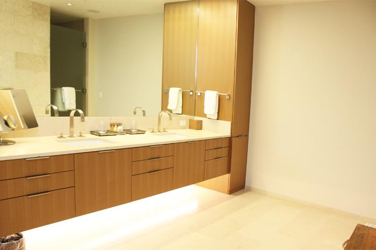 ハワイのパークレーンのバスルームは広くて清潔