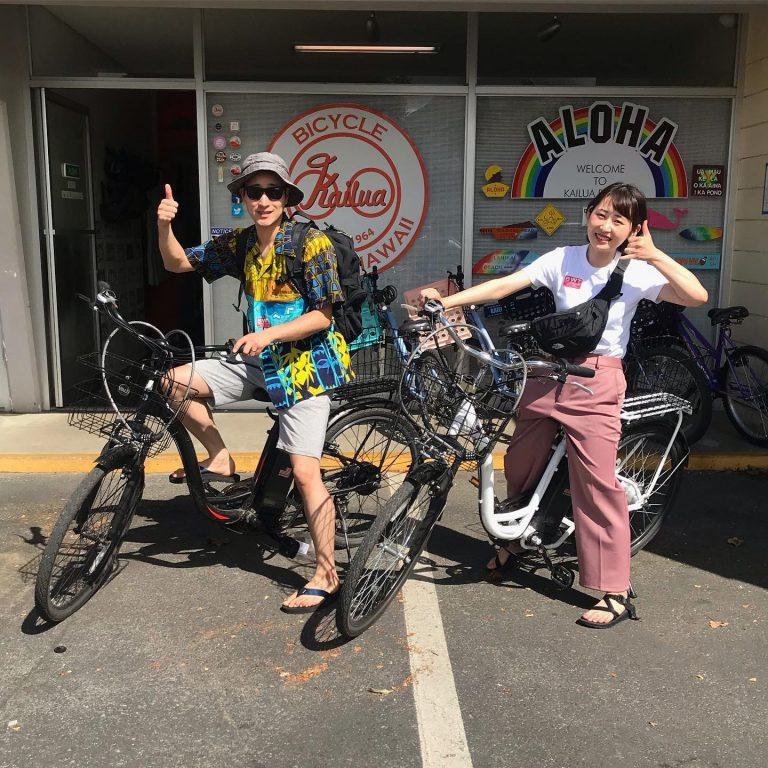 電動自転車(カイルアでレンタル自転車)