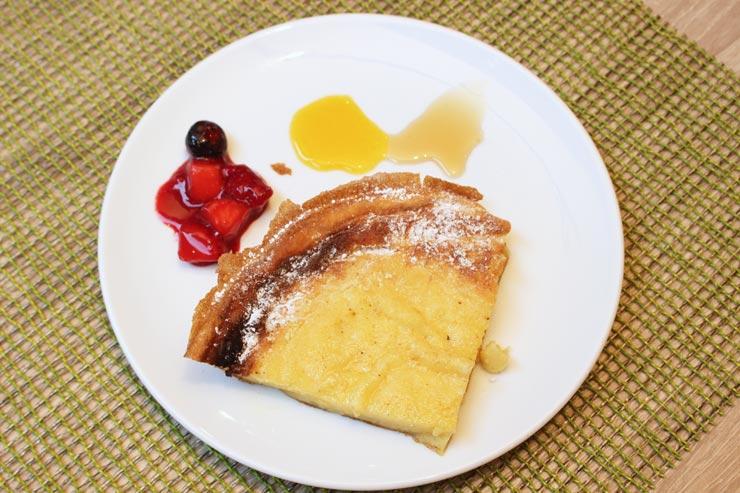 ハワイのアランチーノディマーレ ピザ窯パンケーキ
