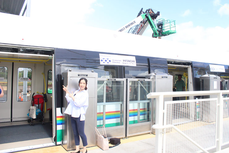 一般初公開!ハワイに開通予定の鉄道&駅を調査