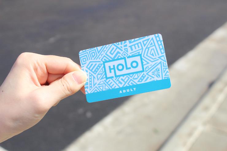 ハワイの電子乗車カード ホロカード