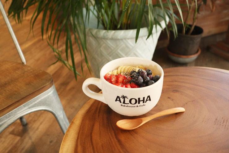 ハワイのアロハ・ベイクハウス&カフェのアサイボウル