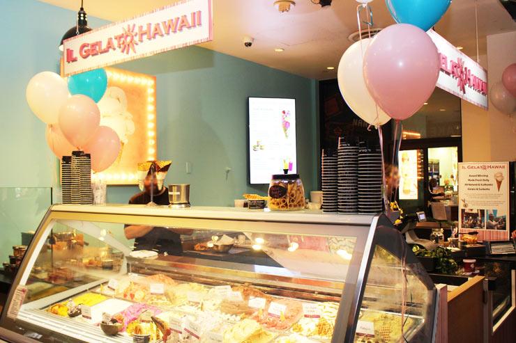 ハワイのイル・ジェラートの外観