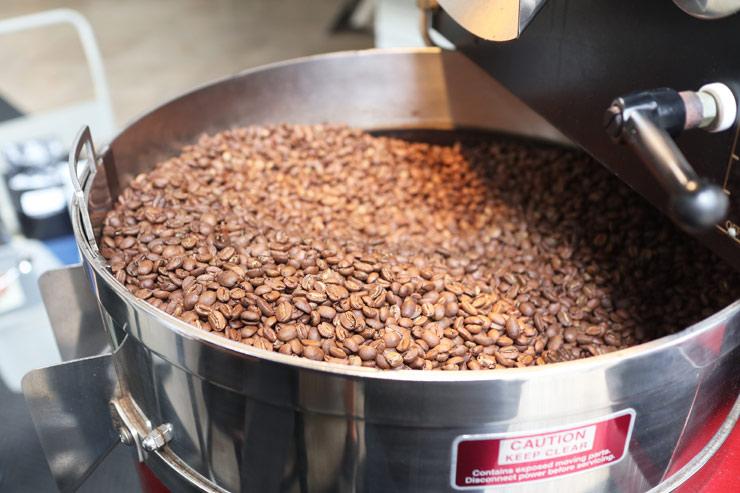 ハワイのダウンタウンコーヒーの焙煎コーヒー豆