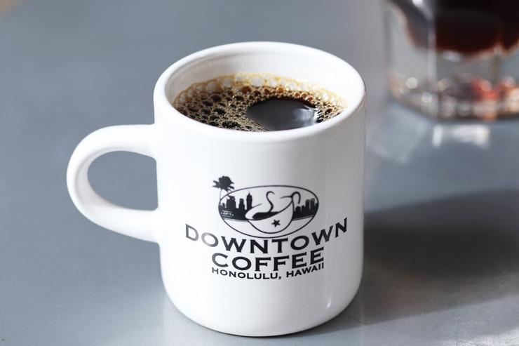 ハワイのダウンタウン・コーヒーのコーヒー