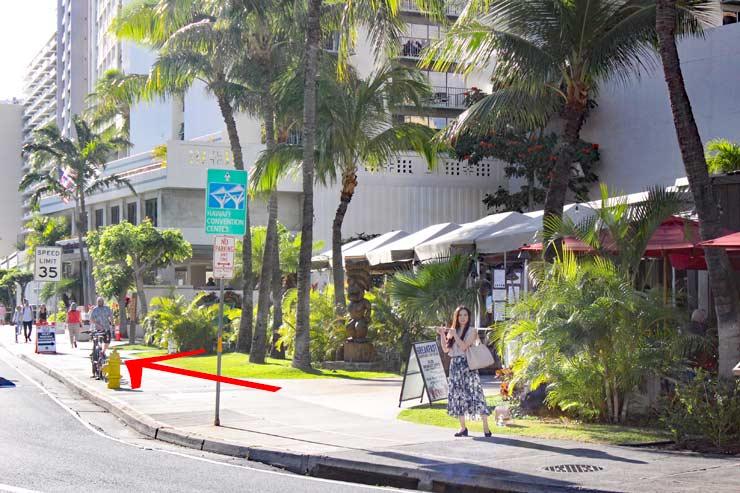 ハワイのダブルツリーbyヒルトン・アラナ・ワイキキ・ビーチ 行き方