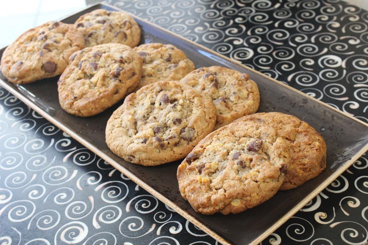 ハワイのダブルツリーbyヒルトン・アラナ・ワイキキ・ビーチ チョコレートチップクッキー