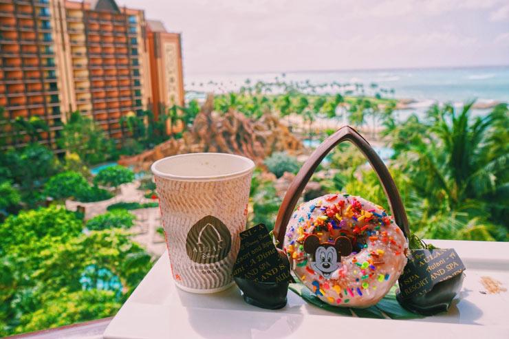 ハワイのアウラニ・ディズニー・リゾートのスイーツとドリンク