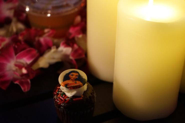 ハワイのアウラニ・ディズニー・リゾートのカップケーキ