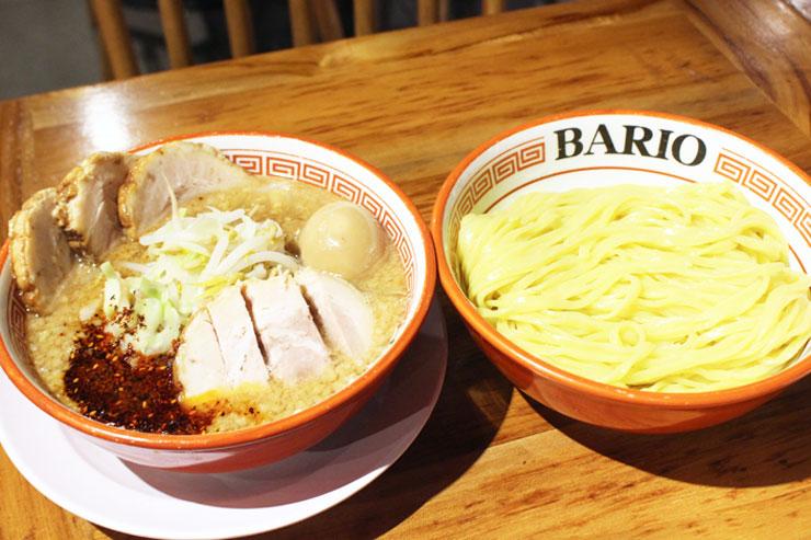 ハワイのらーめんバリオの特製つけ麺