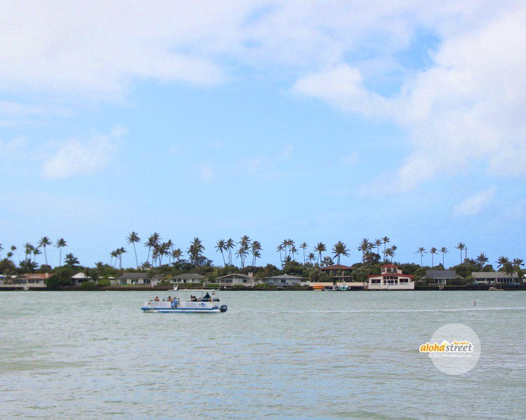 ボートに乗って、ハワイの風を感じたい!