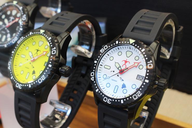 ハワイ-ジャパハの時計