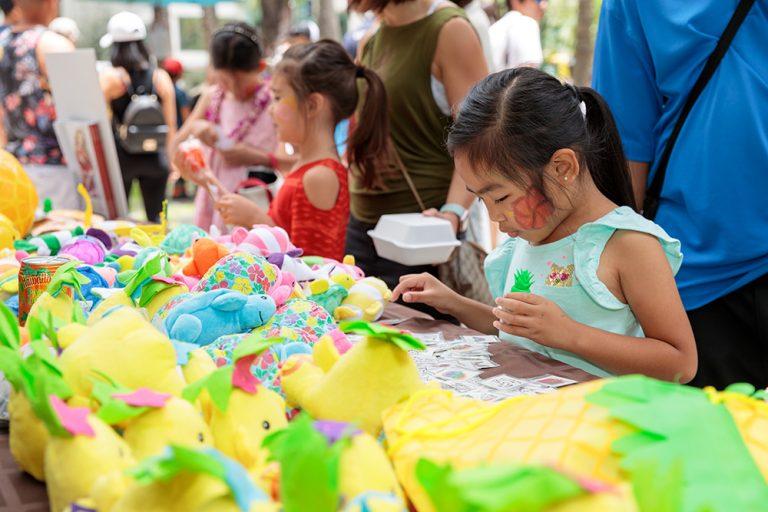 子供のお祭り「ラ・ケイキ・デー」を開催!