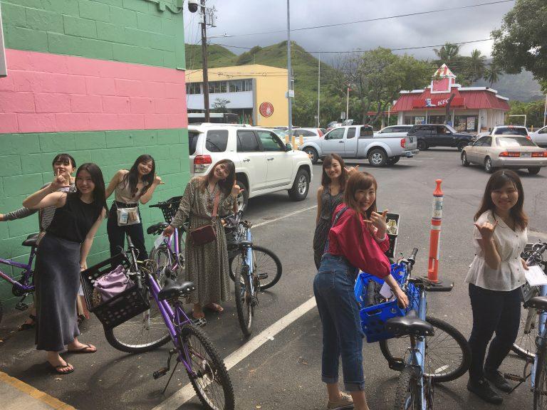 カイルアでレンタル自転車!(送迎ツアー)