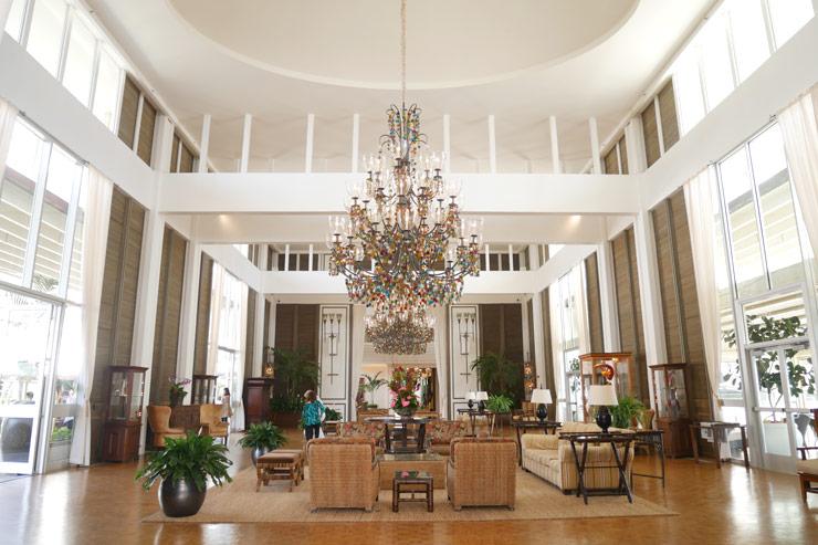 カハラホテルのロビー