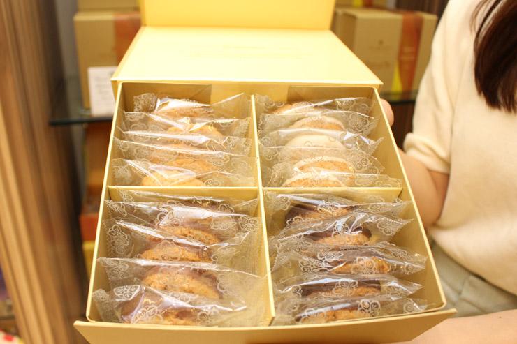 カハラホテルのクッキー