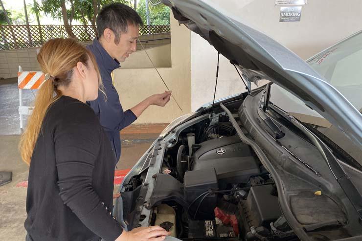 プロが伝授!車の簡易メンテナンス講習を開催
