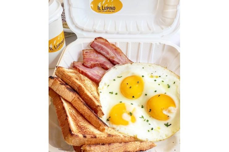イル・ルピーノの朝食メニュー
