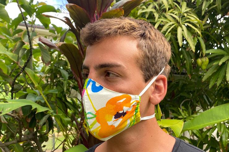 カラフルなハワイ産フェイスマスクが登場