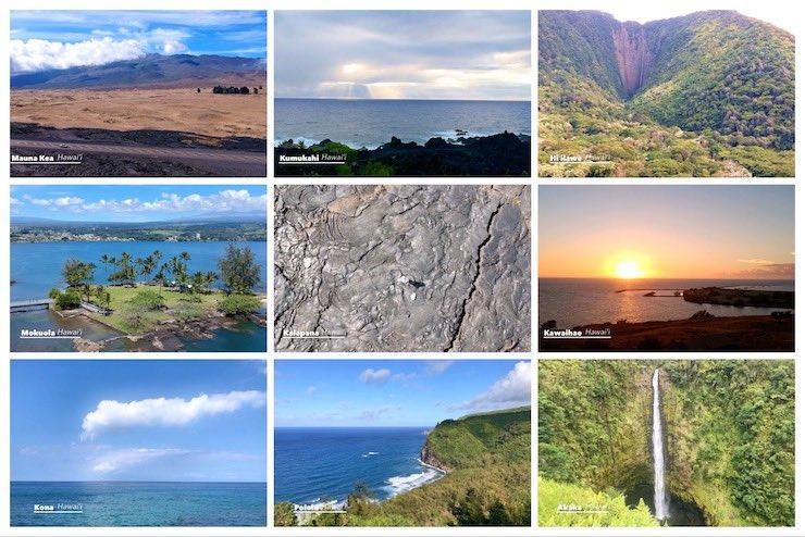 ハワイ島の絶景