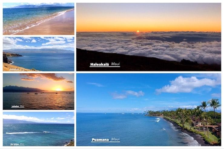 マウイ島の絶景