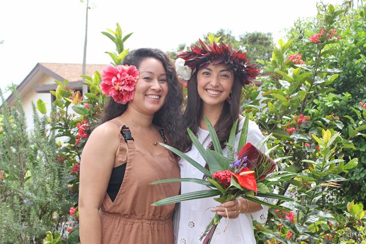 ハワイのフラワーアーティストが魅せる植物の「マナ」