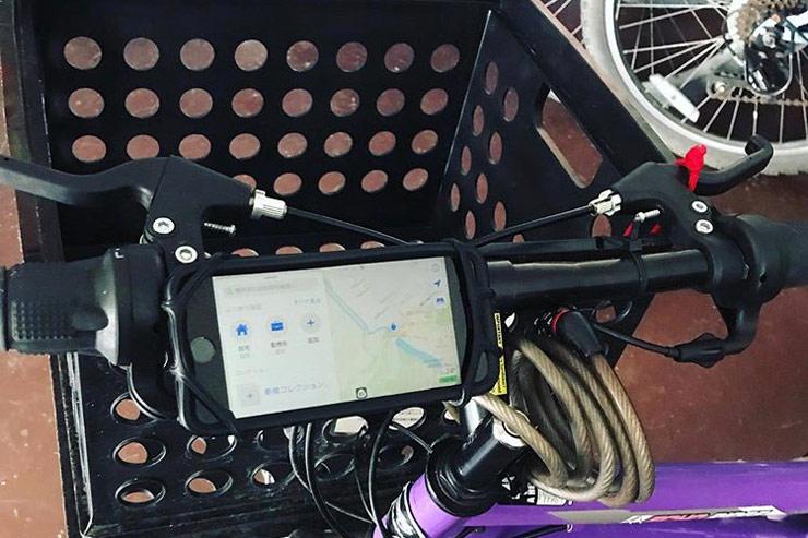 グループに1個携帯用ストラップ (Google Map用)