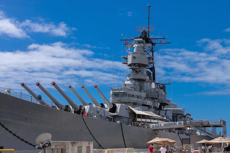 日本からも参加可能!戦艦ミズーリの特別イベント