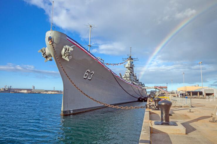 家族で見学!戦艦ミズーリ記念館の特別パス