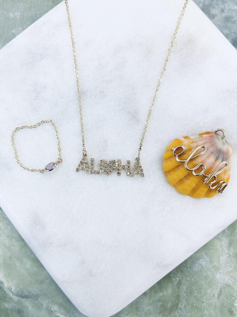 AlohaダイヤとAlohaシェル