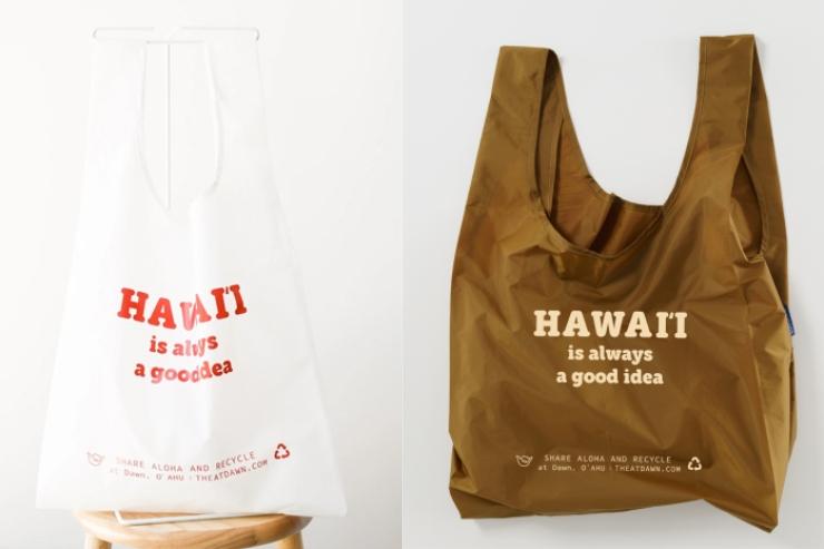 ハワイのアットドーン エコバッグ 定番カラー
