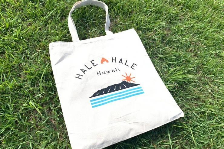 ハワイのジャパハ トートバッグ