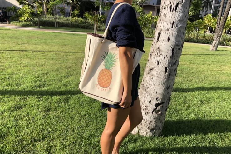 ハワイのラウレア トートバッグ
