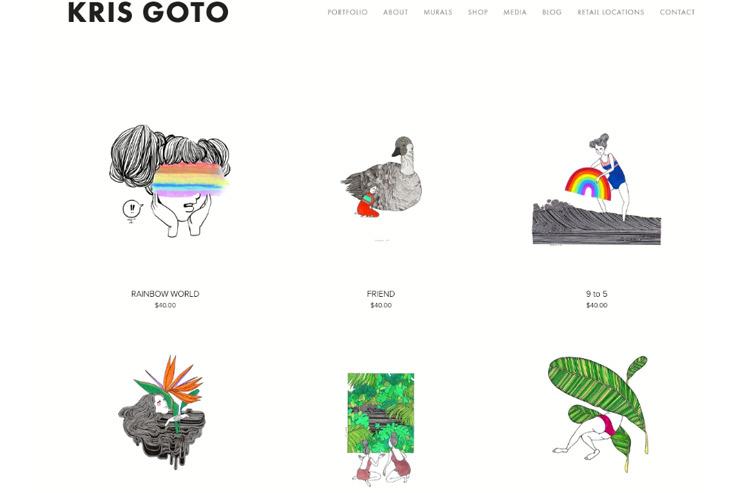 クリス・ゴトウさんのオフィシャルサイト