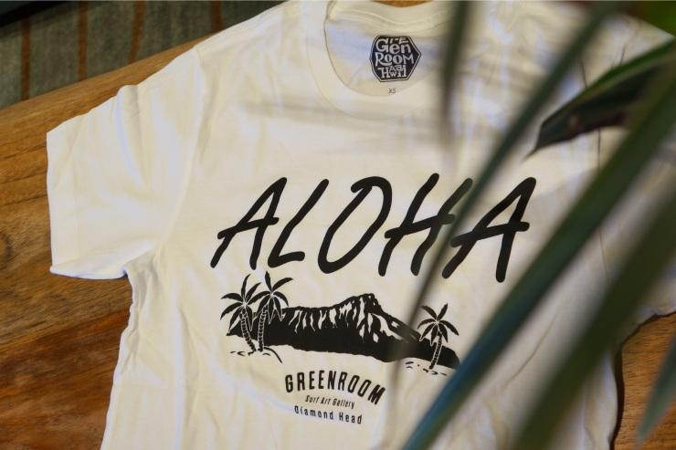 ハワイのグリーンルーム Tシャツ