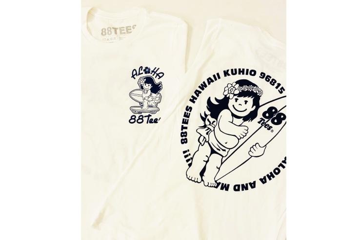 ハワイの88ティーズ Tシャツ