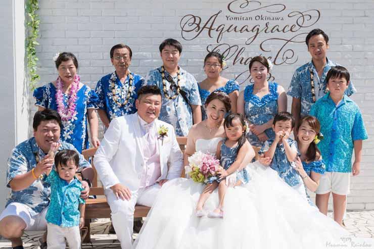 日本で実現!ハワイアンウェアでのリゾート婚