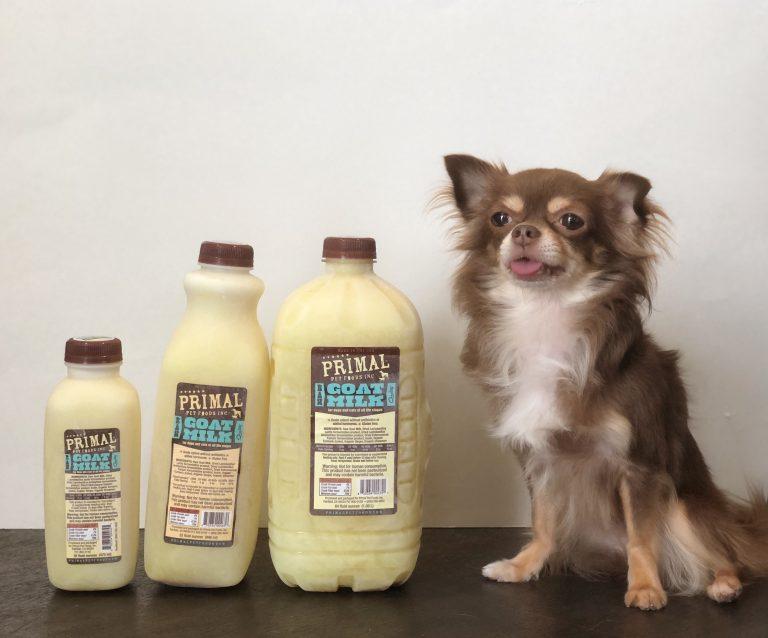 カルビン&スージー: Primalゴートミルク新サイズ登場