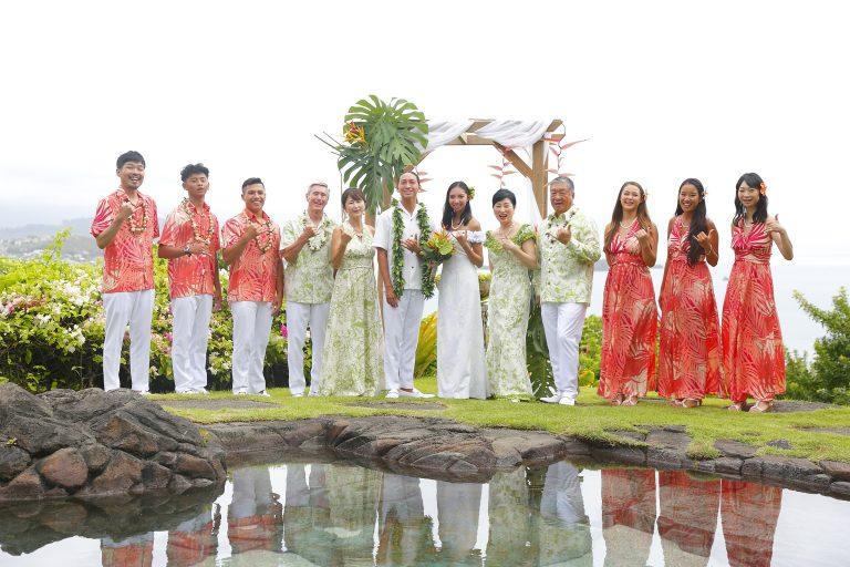アロハスタイルのオーダーメイド結婚式