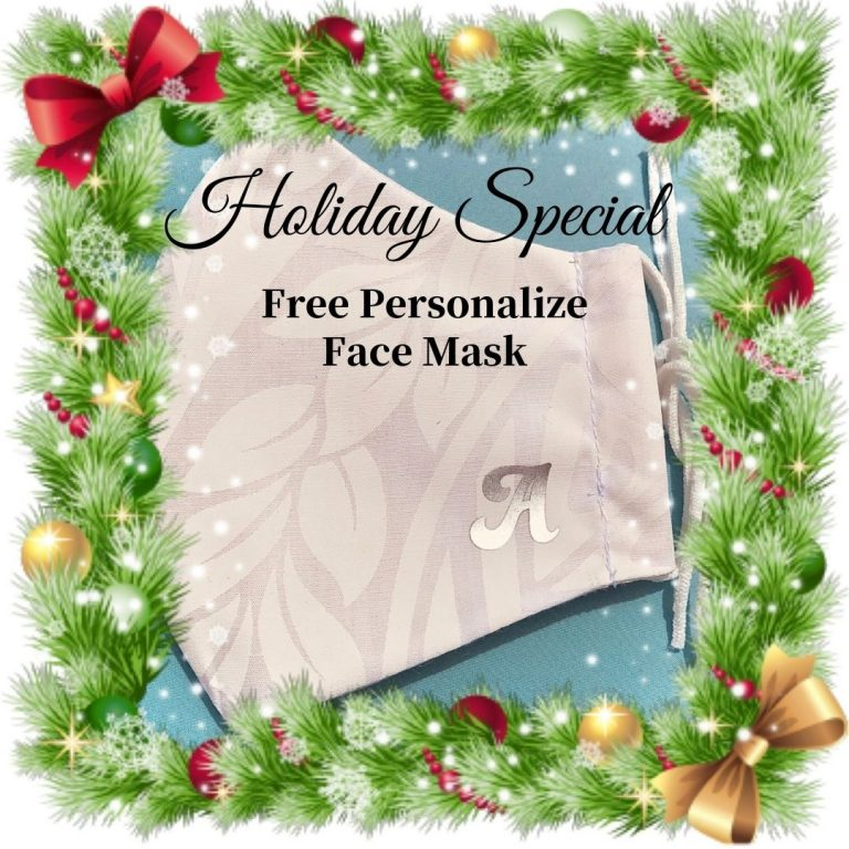 Free Personalize Face Mask