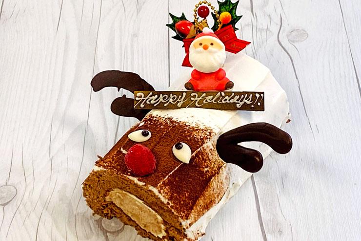 事前予約でキュートなクリスマスケーキが10%オフ