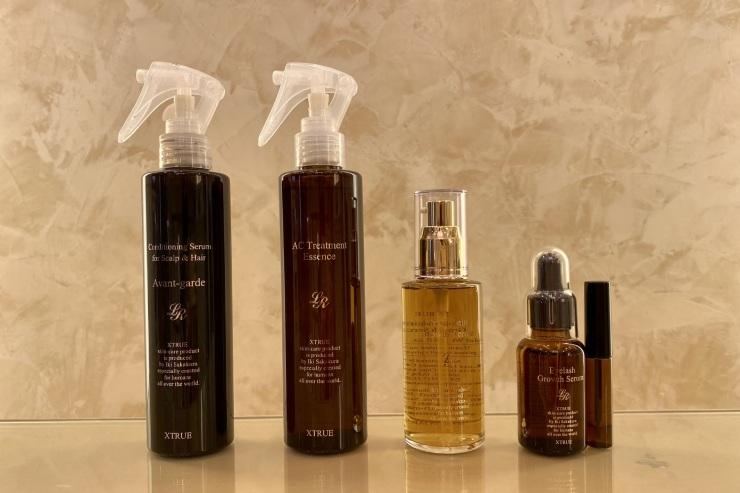 4種類あるヘアケア商品は、同じ商品を2点購入で3点目が無料になるキャンペーンを実施中