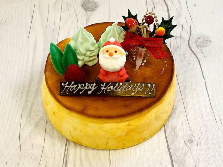スフレ・チーズケーキ