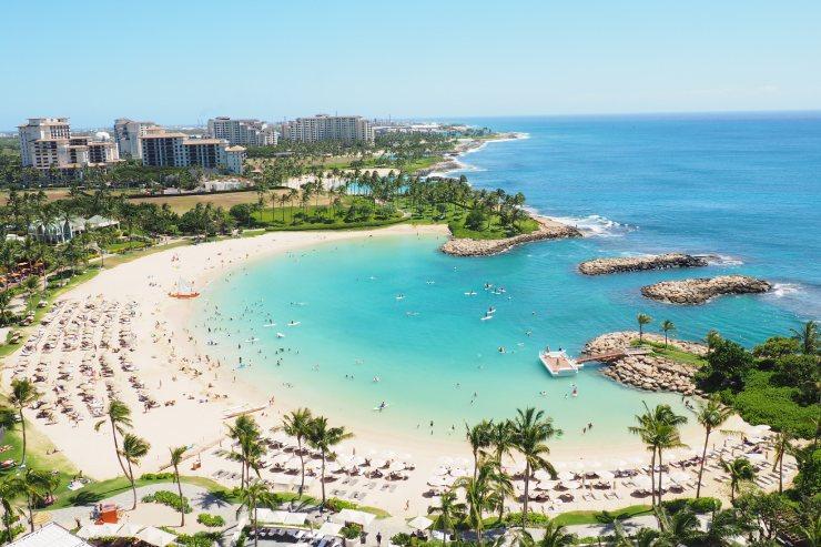 ハワイのおすすめビーチ コオリナビーチ