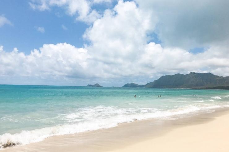 ハワイのおすすめビーチ ワイマナロビーチ