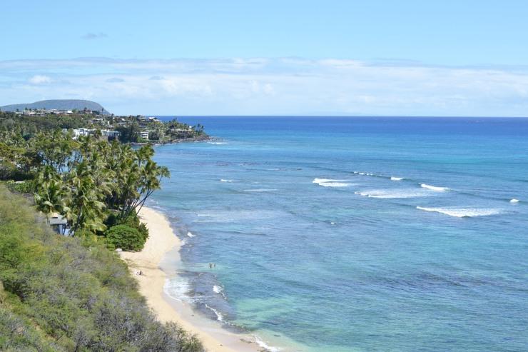 ハワイのおすすめビーチ ダイヤモンドヘッドビーチパーク